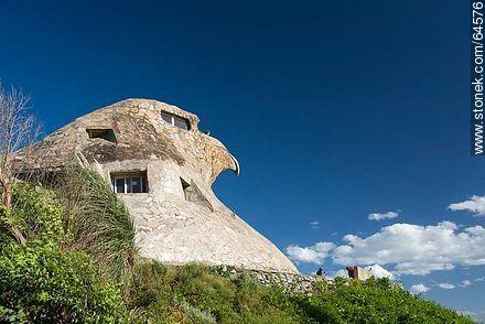 Stone Eagle - Photos of Atlantida - Department of Canelones - URUGUAY. Image #64576