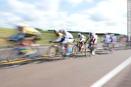 2014 cycling tour on Route 5 - Uruguayan cycling photos - URUGUAY. Image #64681