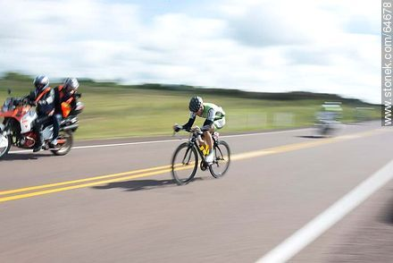 2014 cycling tour on Route 5 - Uruguayan cycling photos - URUGUAY. Image #64678
