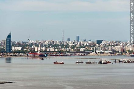 Bay of Montevideo - Extra photos of Montevideo., URUGUAY. Image #65346