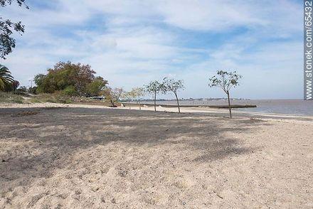 Beach on the Uruguay River - Photos of Colonia del Sacramento - Department of Colonia - URUGUAY. Image #65432