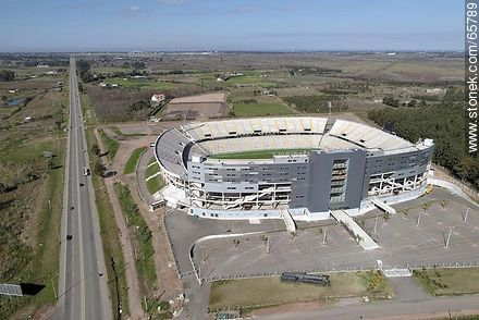 Aerial photo of the stadium of Club Atlético Peñarol