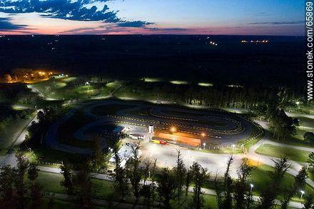 Kart racing circuit from the air - Photos of San José de Mayo - San José - URUGUAY. Image #65869