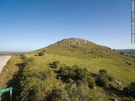 Hills on Route 12 near to Pueblo Edén - Photos of rural area of Maldonado - Department of Maldonado - URUGUAY. Image #65889