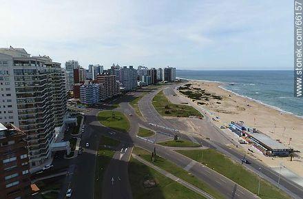 Photographs of beaches of Punta del Este - Punta del Este and its near resorts - URUGUAY. Image #66157
