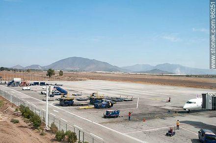 Airport of Santiago de Chile - Photos of Santiago de Chile - Chile - Others in SOUTH AMERICA. Image #66251