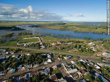 Aerial view of the city - Photos of the city of Paso de los Toros - Tacuarembo - URUGUAY. Image #66548