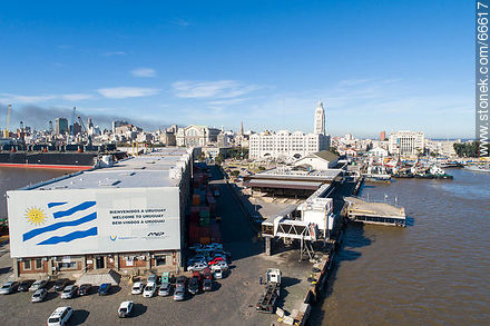 Buquebus Terminal - Photos of the Port area - Department and city of Montevideo - URUGUAY. Image #66617