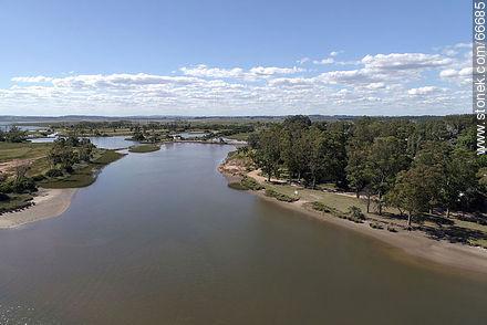 Aerial view of wetlands of Arroyo Maldonado - Photos of rural area of Maldonado - Department of Maldonado - URUGUAY. Image #66685