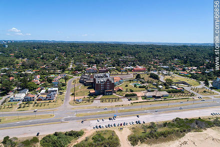 Aerial view of the San Rafael Hotel in February 2019 - Photos of promenades - Punta del Este and its near resorts - URUGUAY. Image #66856