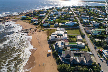 Aerial view of the spa to the west - Photos of Jose Ignacio - Punta del Este and its near resorts - URUGUAY. Image #66907