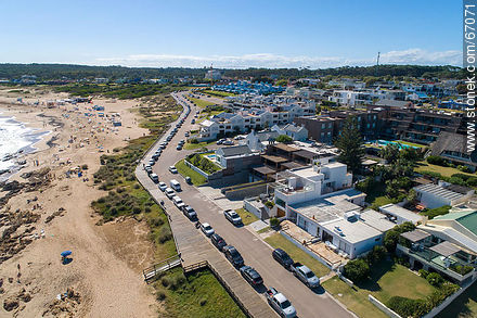 Aerial photo of the resort Manantiales - Photos of La Barra and Manantiales - Punta del Este and its near resorts - URUGUAY. Image #67071