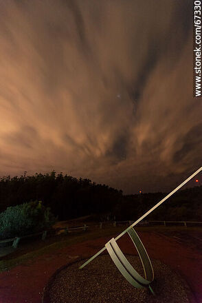 Clouds and stars from the sundial - Photos of UTE-ANTEL Vacations Resort - Lavalleja - URUGUAY. Image #67330