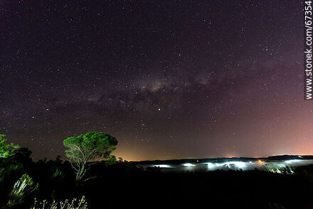 Starry night. Milky Way - Photos of UTE-ANTEL Vacations Resort - Lavalleja - URUGUAY. Image #67354