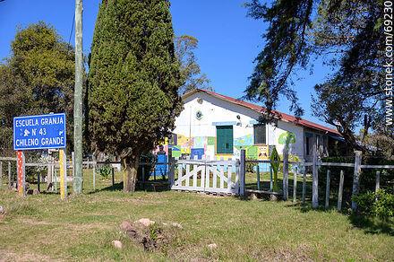 Farm School No. 43 Chileno Grande - Variety of photos of the Department of Durazno - Durazno - URUGUAY. Image #69230