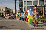 Photo #29762 - United Buddy Bears by Eva and Klaus Herlitz at Independencia square.