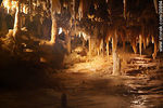 Photo #30864 - Stalagtites and stalagmites in the grout of the Grand Roc. Eyzies-de-Tayac-Sireuil.
