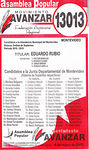 Photo #35839 - Municipal election 2010 candidate list.