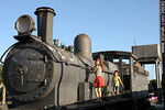 Antigua locomotora en exhibici�n - Foto #36090