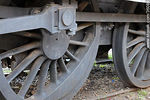Antigua locomotora en exhibici�n - Foto #36088