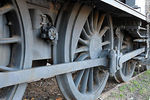 Antigua locomotora en exhibici�n - Foto #36086