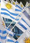 Photo #37674 - Uruguayan flags.