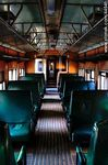 Foto #44941 - Inside an old railway wagon