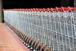 Foto #45939 - Row of shopping carts