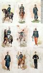 Foto #47941 - Military uniforms in the nineteenth century