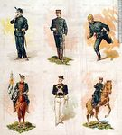 Foto #47936 - Military uniforms in the nineteenth century