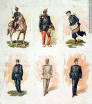 Foto #47935 - Military uniforms in the nineteenth century