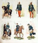 Foto #47933 - Military uniforms in the nineteenth century