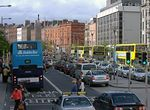 Foto #48746 - O'Connel Street. Row of double-decker bus.