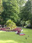 Foto #48594 - Resting in the grass at the park Saint Stephen's Green