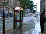 Photo #49179 - Phone booth on a rainy day