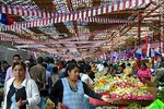 Photo #50029 - The market Asoagro adorned because of the celebrations for the bicentenary of Chilean independence.
