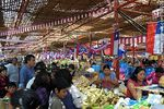 Photo #50028 - The market Asoagro adorned because of the celebrations for the bicentenary of Chilean independence.