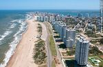Photo #51337 - Aerial photo of Brava beach and promenade.Towers Tiburón 3, Lobos and Le Parc in the foreground.