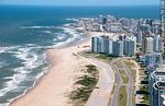 Foto #51336 - Aerial photo of Brava beach and promenade.Towers Tiburón 3, Lobos and Le Parc in the foreground.