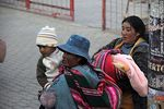 Photo #52030 - El Alto. Mothers with their children.