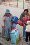 Photo #52029 - El Alto. Mothers with their children.