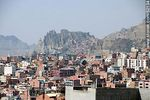 Photo #52134 - View of a section of the city of La Paz