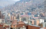 Photo #52129 - View of a section of the city of La Paz