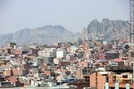 Photo #52124 - View of a section of the city of La Paz