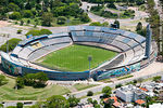 Photo #56001 - Aerial view of the Estadio Centenario in Parque Batlle