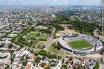 Photo #55997 - Aerial view of the Estadio Centenario in Parque Batlle