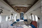 Photo #58207 - Old Fokker abandoned in Melilla. Inside the fuselage
