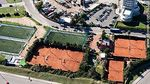 Photo #58348 - Aerial view of soccer and tennis courts at the Yacht Club
