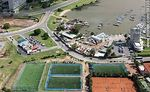 Photo #58335 - Aerial view of soccer and tennis at the Yacht Club