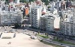 Photo #58373 - Aerial view of the Rambla Rep. of Peru, Pocitos Beach